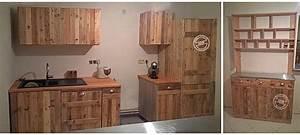 Meuble De Cuisine En Palette : ndcm fabrication de meubles et am nagements en bois de palette ~ Dode.kayakingforconservation.com Idées de Décoration