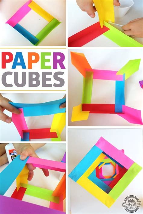 kids craft paper boxes paper crafts  kids paper