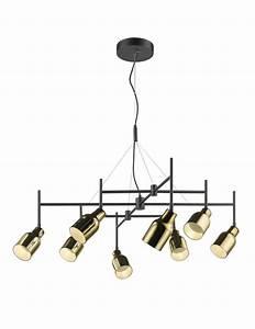 Suspension Noir Et Or : super 8 suspension noir et or ~ Teatrodelosmanantiales.com Idées de Décoration