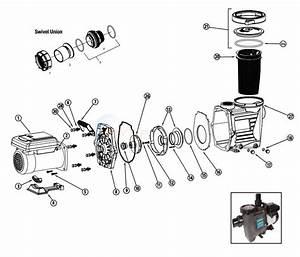 Waterway Power Defender 165 Variable Speed Pump Parts