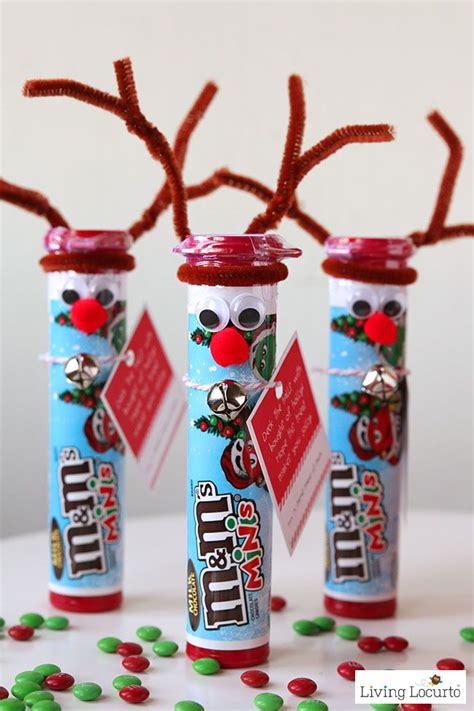 christmas craft ideas for teachers rudolph the nosed reindeer diy gift ideas