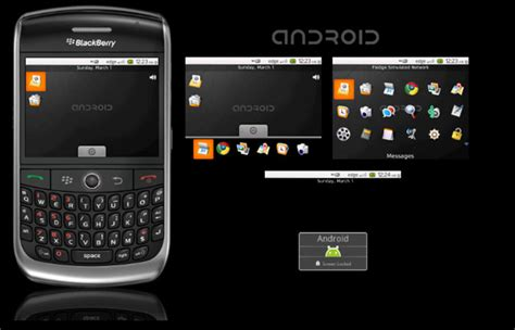 android blackberry blackberry android instant coolness or sure