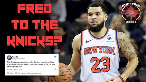 Fred VanVleet to the KNICKS? - New York OFFERING 22 ...