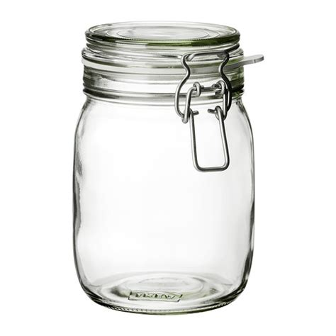 clear kitchen canisters korken bocal avec couvercle ikea