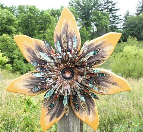 sunflower wall decor outdoor wall art orange
