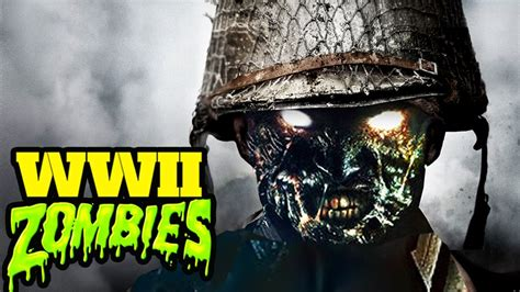 call of duty world war 2 was zombies leaked months ago