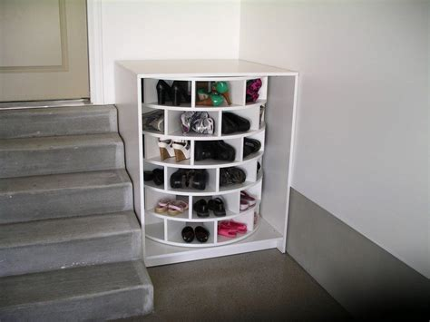 Shoes Organizers : Diy Lazy Susan Shoe Storage
