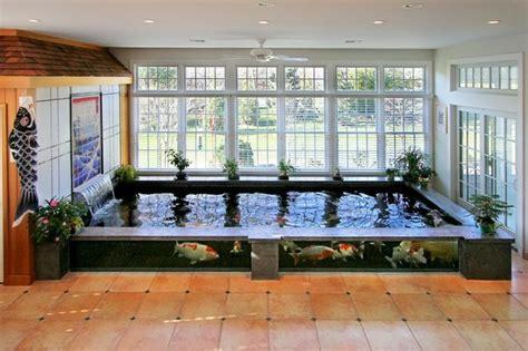 indoor koi pond sunroom york by barlo associates architects llc