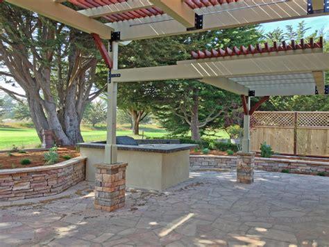 cypress ridge trellis barbecue traditional patio san