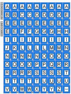 1000 images about digi alphabets on pinterest free With alphabet letter tiles