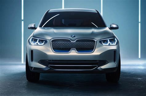 BMW iX3 Electric Crossover Concept Debuts in Beijing ...