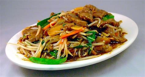 cuisine chinoise poisson recette chop suey au boeuf chine informations