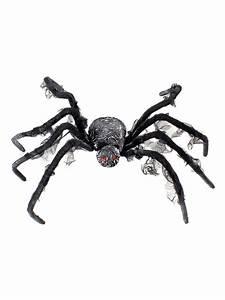 Gruselige Halloween Deko : gruselige riesen spinne halloween deko schwarz grau 95cm ~ Markanthonyermac.com Haus und Dekorationen