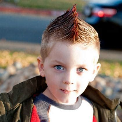 Kid Mohawk Hairstyles by 10 Funky Hairstyles For 11 Year Boys Hairstylevill