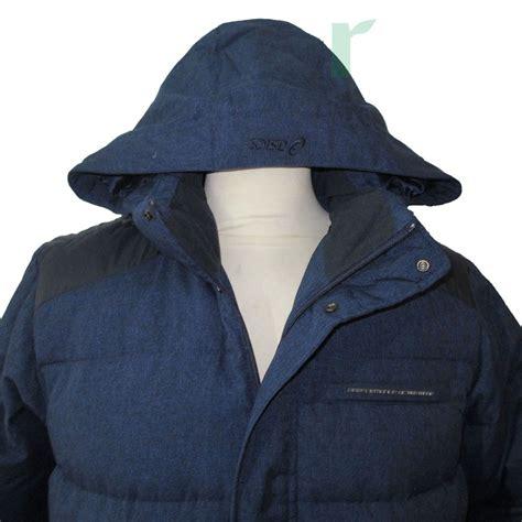 Harga Jaket Merk Asics jual jaket bulu angsa duck original biru asics