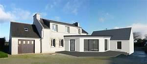 lumiere et modernite pour cette extension reliant une With dependance d une maison