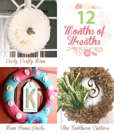 Piece of twine or ribbon (to use as a hanger). Simple Coffee Filter Wreath DIY {12 Months of Wreaths} - CurlyCraftyMom.com