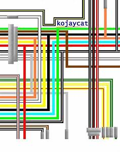Suzuki Ts185 Er Uk Spec Colour Wiring Loom Circuit Diagram