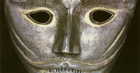 Persian War Mask, This Mask Would Have Been Attached To A