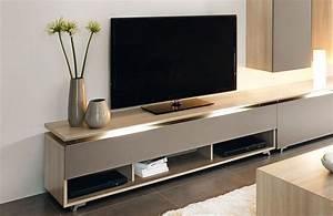 Banc De Tv Meuble De Tele Moderne Maisonjoffrois