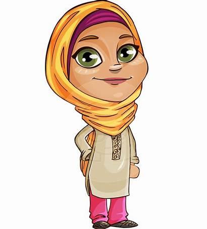 Cartoon Arabic Muslim Mir Hebe Chan Transparent