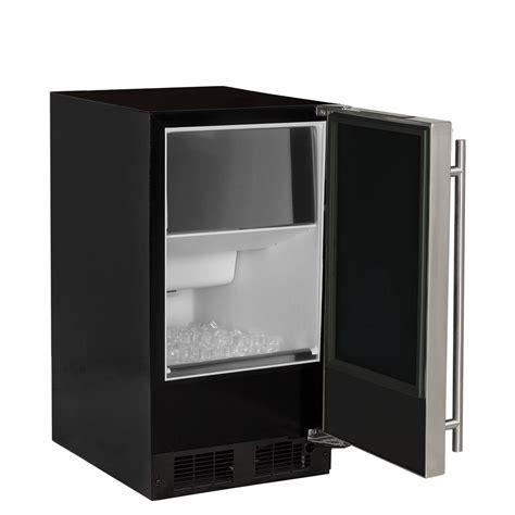 marvel macps  household  height clear ice machine  arctic illuminice lighting