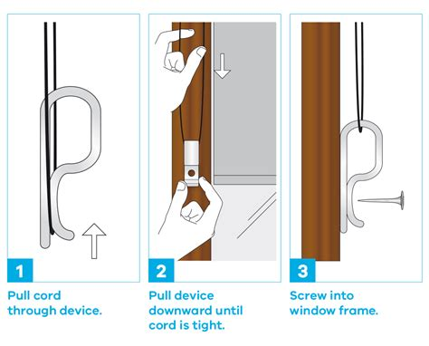 Blind And Curtain Cord Safety