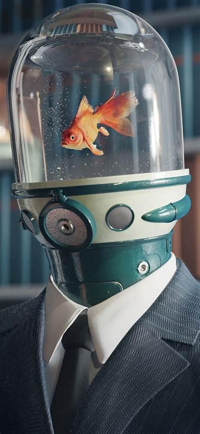 Umbrella Academy Carmichael Goldfish Wallpapers 4k Iphone