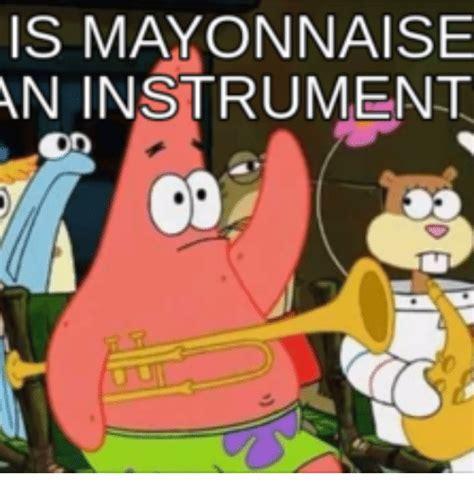 Mayonnaise Meme - is mayonnaise an instrument mayonnaise meme on sizzle