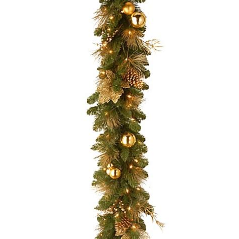 national tree company elegance battery operated 6 foot pre