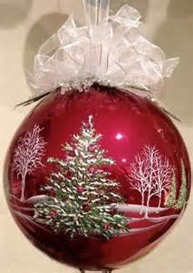 25 best ideas about painted christmas ornaments on pinterest glass christmas ornaments