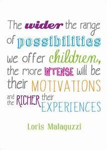 Loris Malaguzzi... Malaguzzi Documentation Quotes