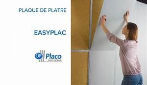 Plaque De Platre : plaque de pl tre easyplac placo 575529 castorama doovi ~ Melissatoandfro.com Idées de Décoration