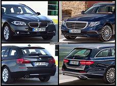 Mercedes EKlasse TModell vs BMW 5er Touring BildVergleich