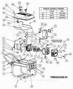 Powermate Formerly Coleman Pm0543250 01 Parts Diagram For
