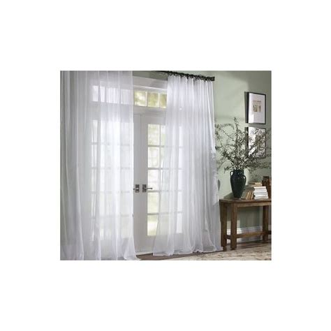 Pottery Barn Curtains 108 by Pottery Barn Voile Sheer Drape 50 X 108 Quot Pole Pocket