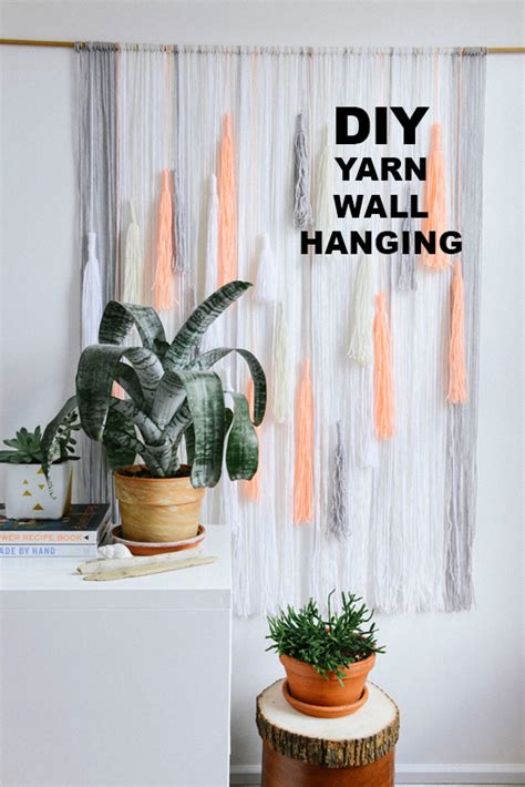 make a hanging l d e s i g n l o v e f e s t make it wall hanging