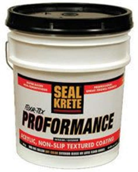 seal krete 401003 40 lbs floor tex household paint solvents