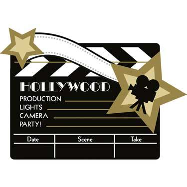 partystorecom general themes hollywood  wall
