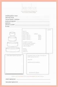 cake invoice cake ideas and designs With cake order invoice template