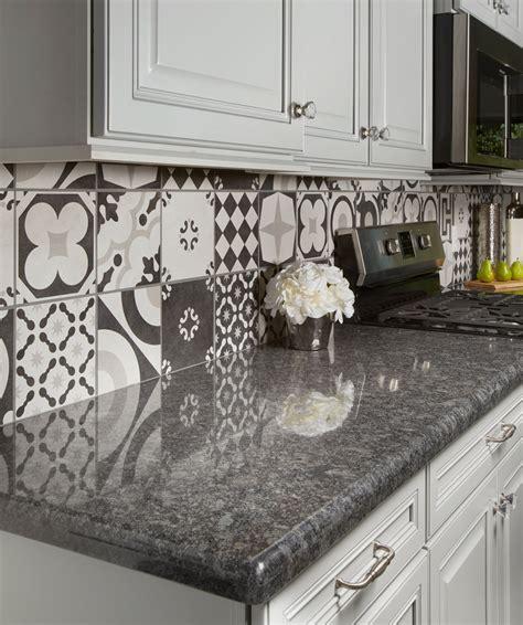steel grey granite kitchen counter contemporary