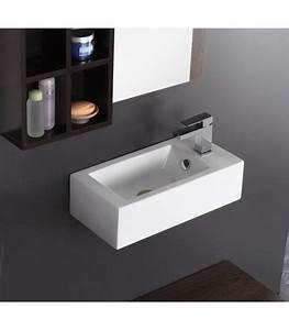 Lave Main Rectangulaire : lave mains domino banyo ~ Premium-room.com Idées de Décoration