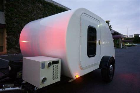 nestegg brand fiberglass teardrop trailer teardrop trailer camper road trip