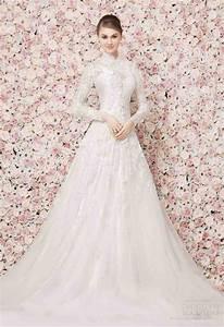 high neck long sleeve wedding dress wedding and bridal With high neck wedding dress with sleeves