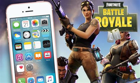 fortnite mobile ios gameplay     epic games