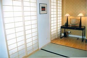 fabriquer cloison japonaise coulissante atlubcom With fabriquer porte coulissante japonaise