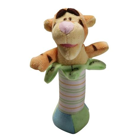 disney unisex tigger stick rattle baby baby toys rattles musical toys