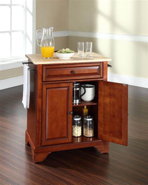 kitchen portable island crosley lafayette portable kitchen island by oj commerce kf30022bbk 289 00