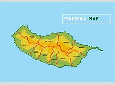 Madeira Map Download Free Vector Art, Stock Graphics