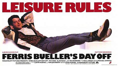 Ferris Buellers Day Home by Review Ferris Bueller S Day 1986